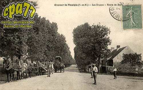 Ozouer Le Voulgis - Les Etards - Route de Paris