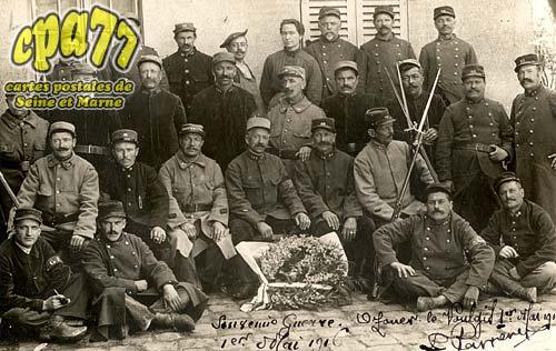 Ozouer Le Voulgis - Carte Photo Souvenir de Guerre - 1er Mai 1916
