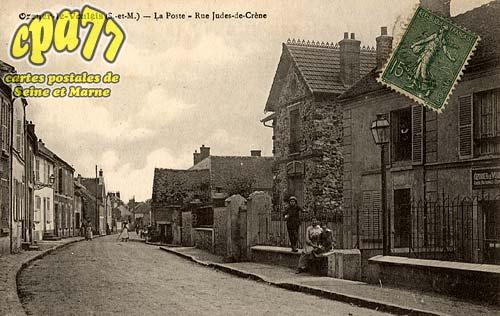 Ozouer Le Voulgis - La Poste - Rue Judes-de-Crène