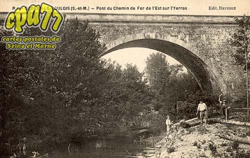 Ozouer Le Voulgis - Pont du Chemin de Fer de l'Est sur l'Yerres