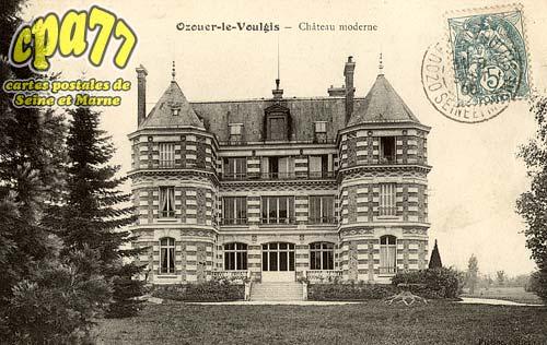 Ozouer Le Voulgis - Château Moderne