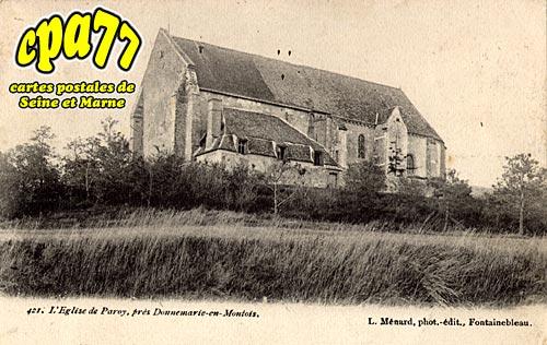 Paroy - L'Eglise