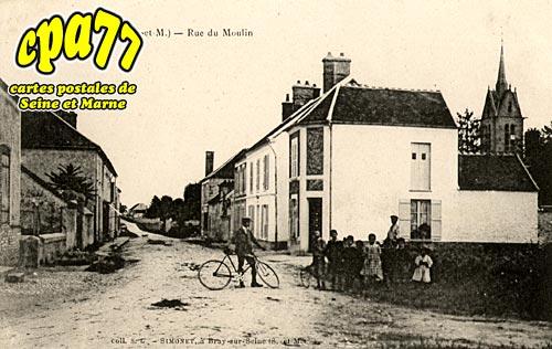 Pécy - Rue du Moulin