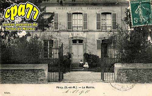 Pécy - La Mairie