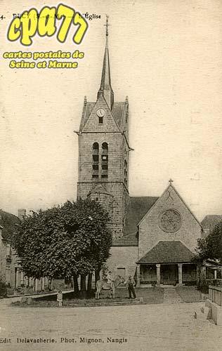 Pécy - L'Eglise