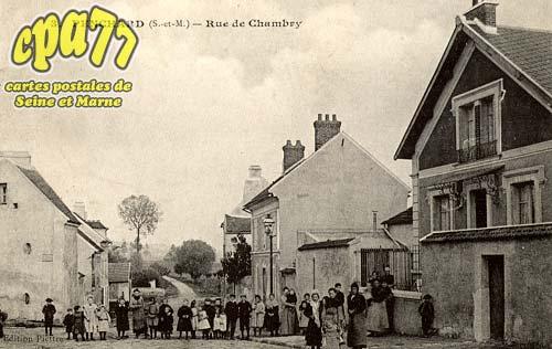 Penchard - Rue de Chambry