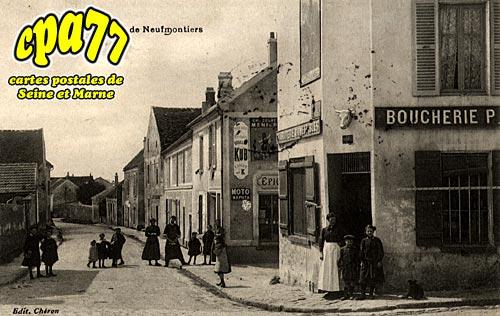 Penchard - Route de Neufmontiers