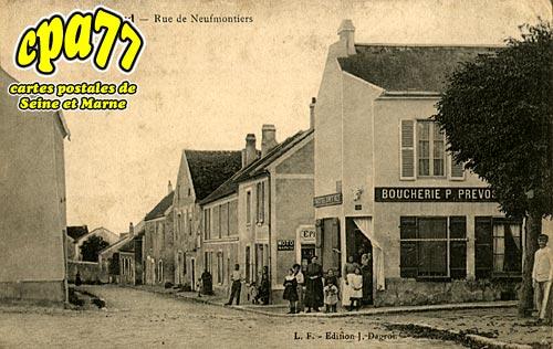 Penchard - Rue de Neufmontiers (en l'état)