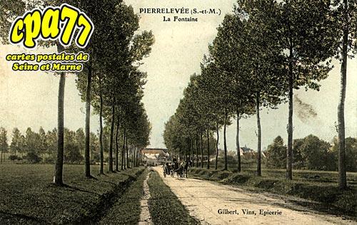 Pierre Levée - La Fontaine