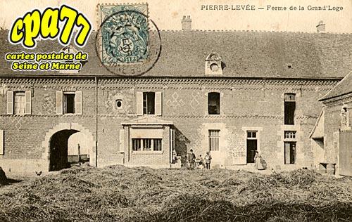 Pierre Levée - Ferme de la Grand'Loge