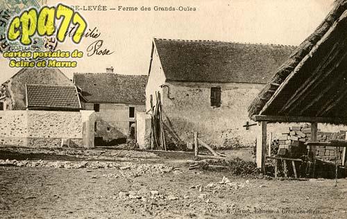 Pierre Levée - Ferme des Grands-Ouïes