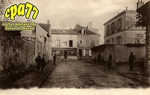 Le Pin - Rue Neuve
