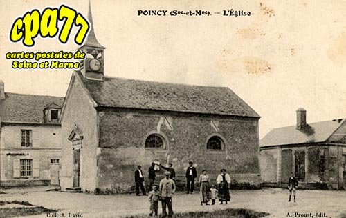Poincy - L'Eglise