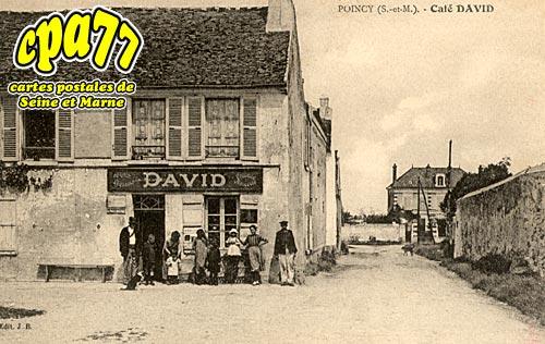 Poincy - Café DAVID