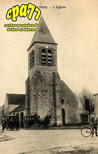 Pommeuse - L'Eglise