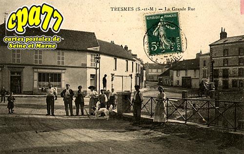 Pommeuse - Tresmes - La Grande Rue