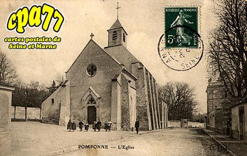 Pomponne - L'Eglise