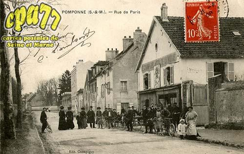 Pomponne - Rue de Paris