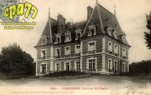 Pomponne - Château de Chaâlis