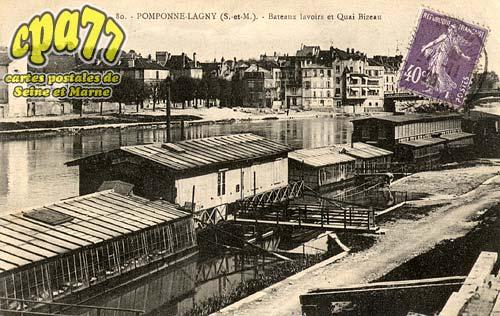 Pomponne - Bateaux Lavoirs et Quai Bizeau