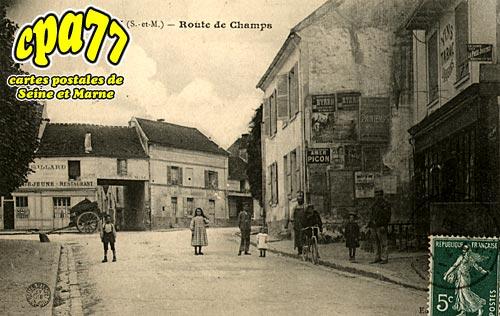Pontault Combault - Route de Champs