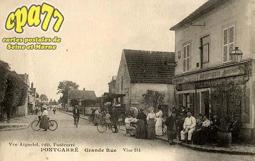 Pontcarré - Grande Rue