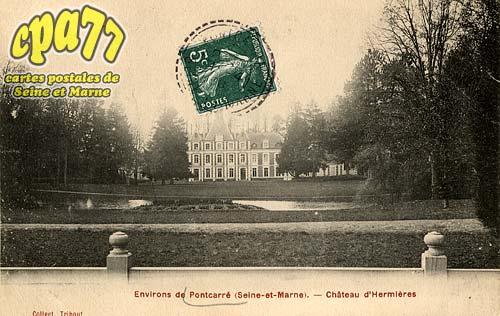 Pontcarré - Environs de Pontcarré (Seine-et-Marne) - Château d'Hermières