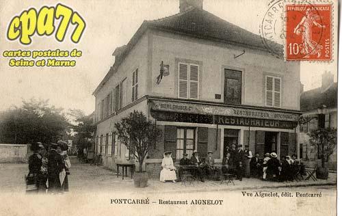 Pontcarré - Restaurant Aignelot