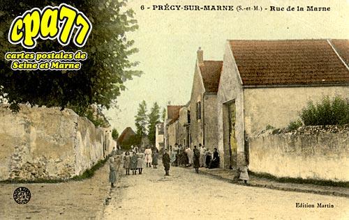 Précy Sur Marne - Rue de la Marne