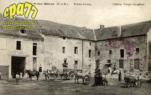Précy Sur Marne - Ferme Lecocq