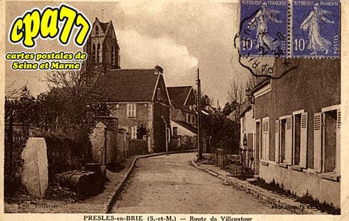 Presles En Brie - Route de Villepatour