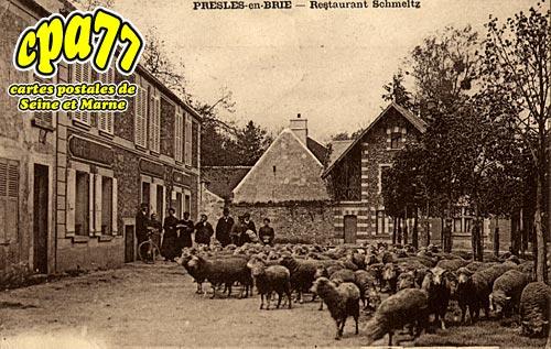 Presles En Brie - Restaurant Schmeltz