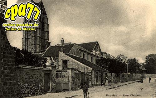 Presles En Brie - Rue Chaton