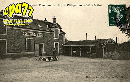 Presles En Brie - Villepatour - Café de la Gare