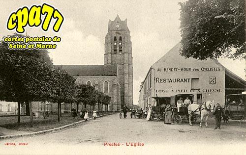 Presles En Brie - L'Eglise