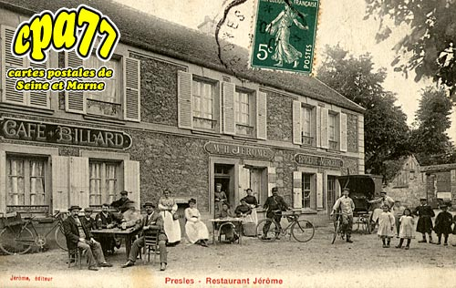Presles En Brie - Restaurant Jérôme