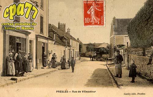 Presles En Brie - Rue de Villepatour