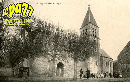 Pringy - L'Eglise