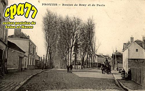 Provins - Routes de Bray et de Paris