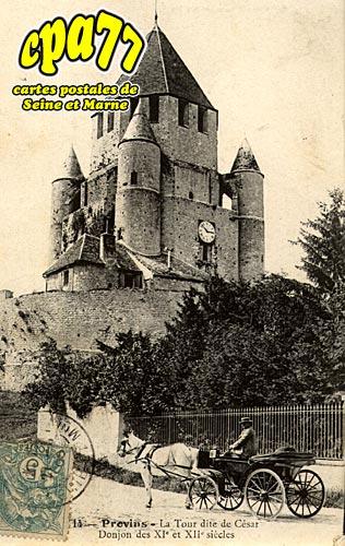 Provins - La Tour dite de César - Donjondes Xie et XIIe siècles