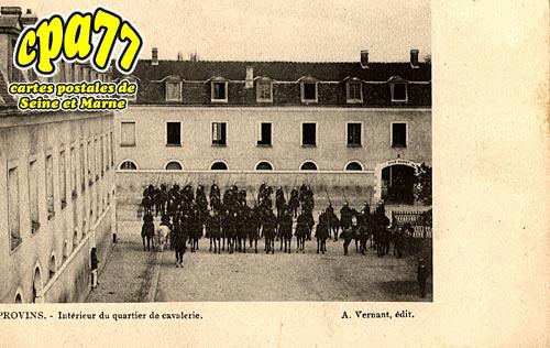 Provins - Intérieur du quartier de cavalerie
