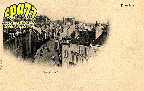 Provins - Rue du Val