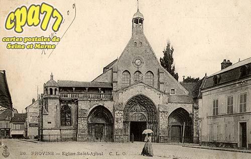 Provins - Eglise Saint-Ayoul