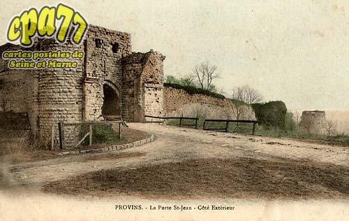Provins - La Porte St-Jean - Côté Extérieur