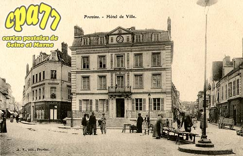 Provins - Hôtel de Ville
