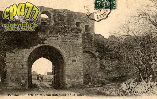 Provins - Porte Saint-Jean (intérieur de la ville)