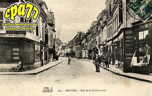 Provins - Rue de la Cordonnerie