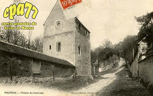 Provins - Maison du bourreau