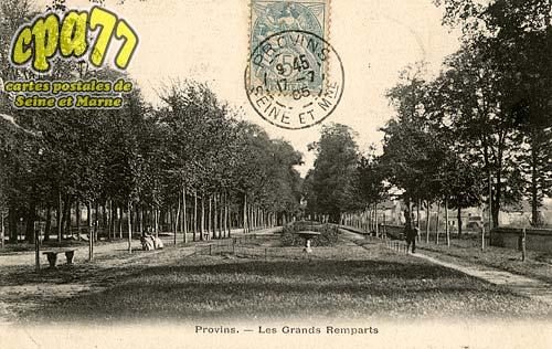 Provins - Les Grands Remparts