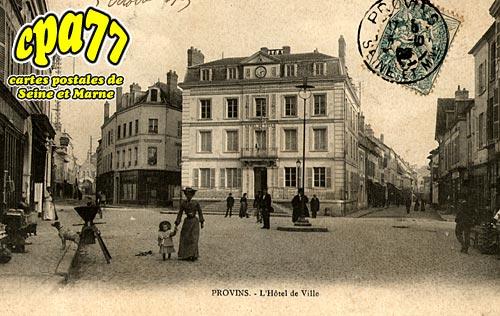 Provins - L'Hôtel de Ville